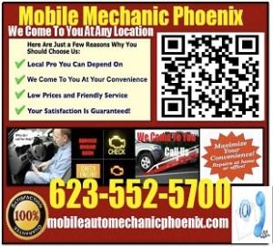 Mobile Mechanic Phoenix