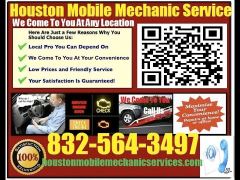 Mobile Mechanic In Houston TX Auto Car Repair Service