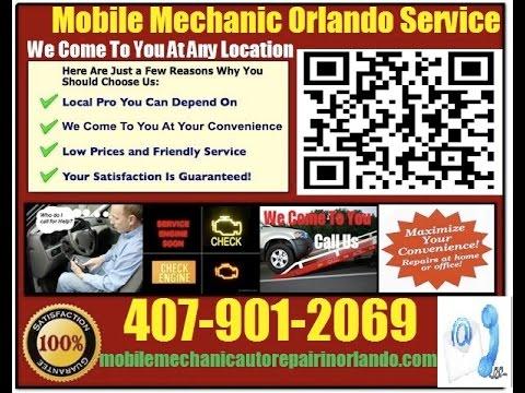 Mobile Mechanic In Orlando FL Auto Car Repair Service