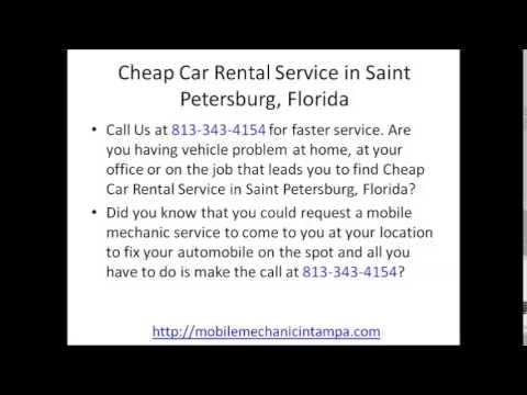 Mobile Mechanic StPetersburg FL Review 813-343-4154