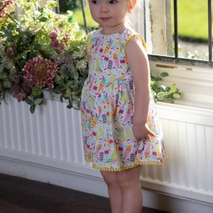 ICE CREAM BABY_DRESS_1