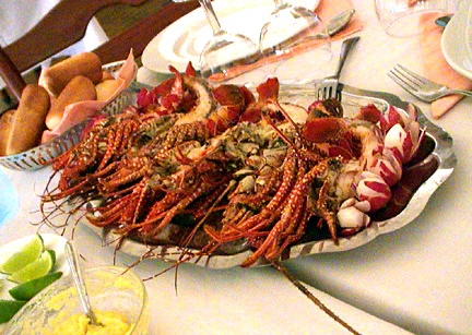 When we are travelling, we are more likely. Guadeloupe local food / cuisine / cooking / specialities
