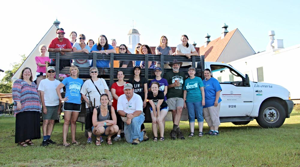Sapelo Island Workshop participants