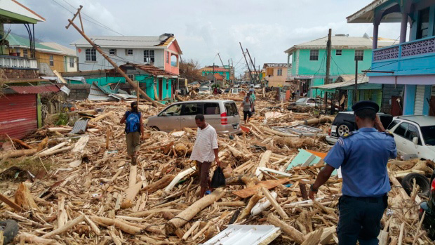 Dominica after Hurricane Maria