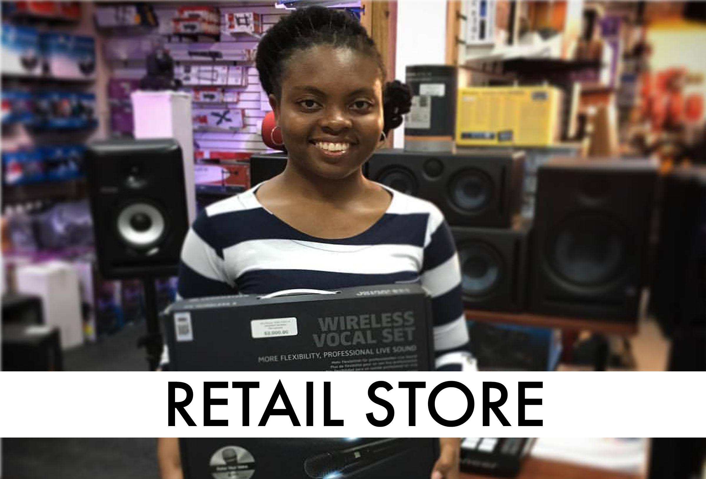 CET Retail Caribbean islands sales jbl audiotechnica soundcraft presonus krk pioneer akg bss amx lexicon prv