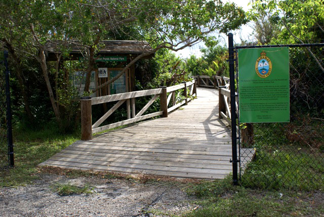 Entrance to Harrold and Wilson Ponds National Park (Photo by Linda Huber)
