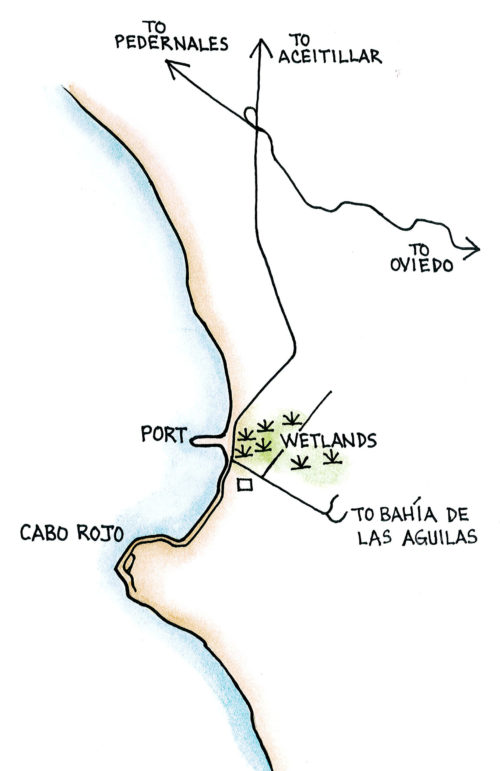 Cabo Rojo and Pedernales (Map by Dana Gardner)
