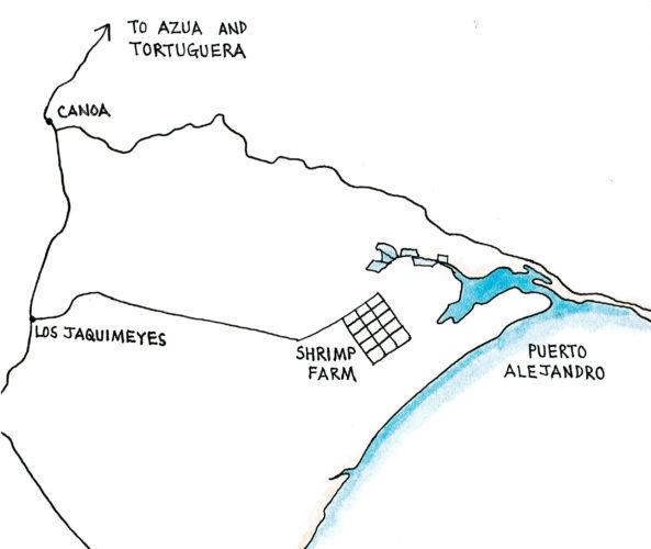Puerto Alejandro (Map by Dana Gardner)