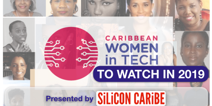 SiliconCaribe.com Women in Tech graphic