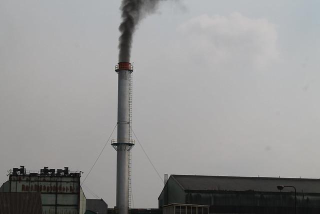 Smoke stack at Belcogen