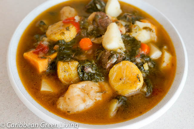 Haitian Bouillon or Beef and Veggies Soup