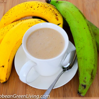 How to make Plantain and Banana Puree