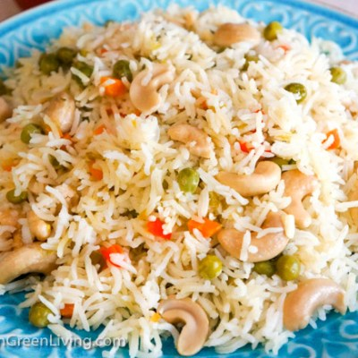 Springtime Rice, the perfect anytime rice