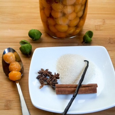 How to make Kenep Trempe or Rum Soaked Kenep, a delicious Caribbean Treat