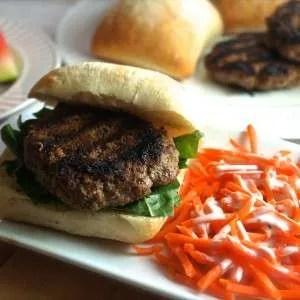 Tasty and Juicy Beef Burger