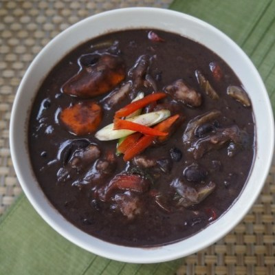The Perfect Black Beans Soup