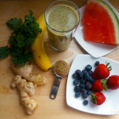 My Morning Booster Smoothie
