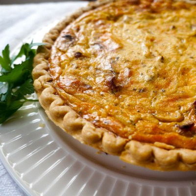 The Perfect Onion Tart