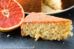 Delicious and Dairy Free Grapefruit Cake