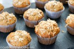 A Crunchy Banana, Cherries, and Coconut Muffins recipe you'll love