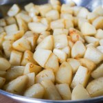 Pan-Roasted Potatoes with Gemma's Pineapple Gourmet Hot Sauce