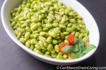 Spicy Shelled Edamame Beans, a quick and easy snack