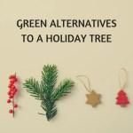 Green Alternatives to a Holiday Tree