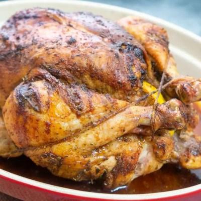 Perfect Roast Chicken with Noubess Seasoning