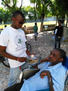 Campus Students Serve Seniors in Haiti
