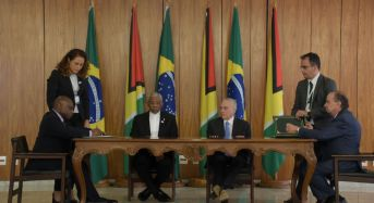 Brazil, Guyana: Collaboration in defence, health and infrastructure