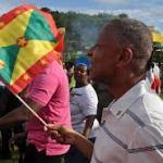 Grenada's Prime Minister hails Olympic star Kirani James as a hero!