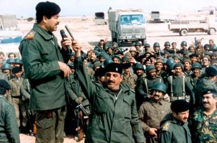 President Saddam of Iraq