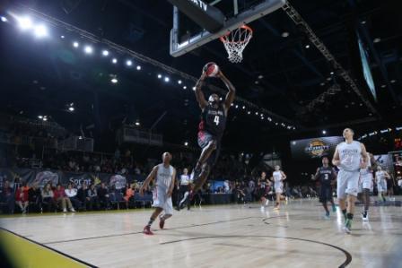 Usain Bolt celebrity basketball