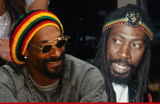 Snoop Lion and Bunny Wailer.