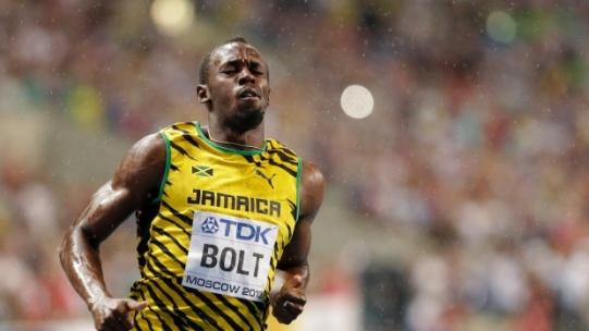 Usain Bolt in Russia