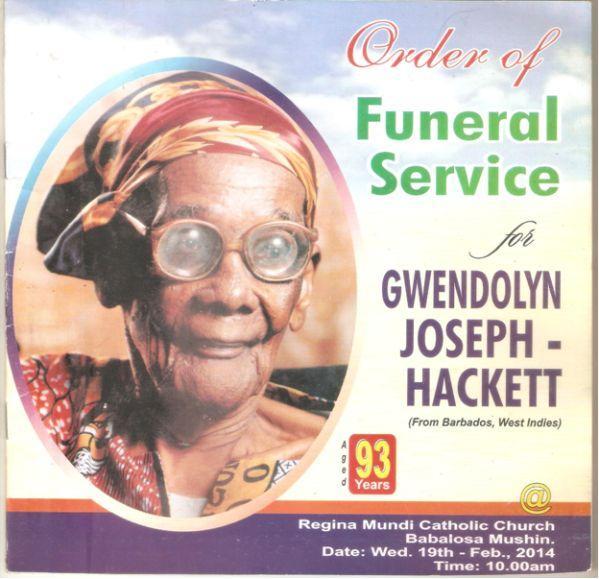 Gwendalyn Joseph