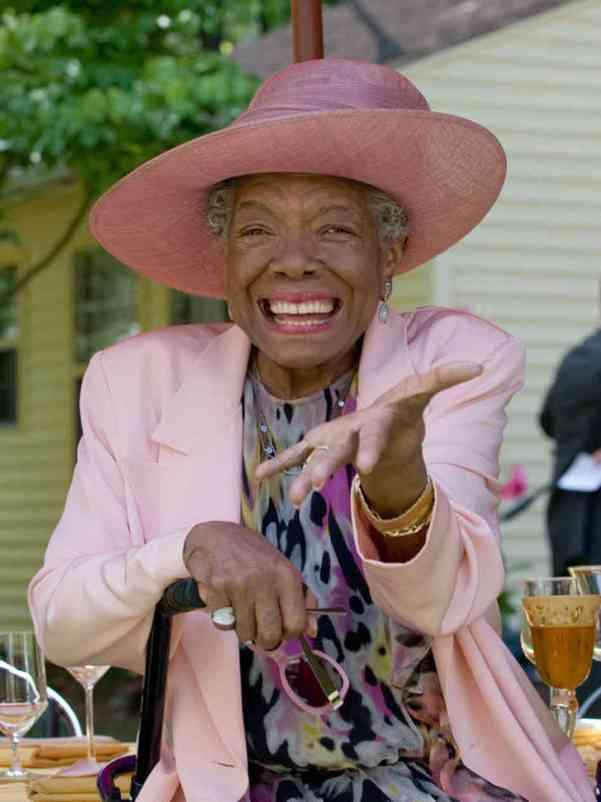 The late Maya Angelou. Photo courtesy www.npr.org