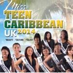 Miss Teen Caribbean UK Finals 2014