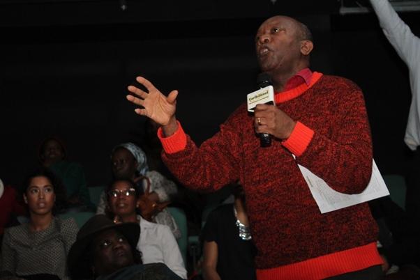 Birmingham based CaribDirect supporter promoting an African Caribbean talent database.