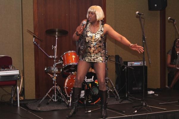 Caribbean Queen, Wayne 'Dibbi' Rollins. Photo courtesy CaribDirect