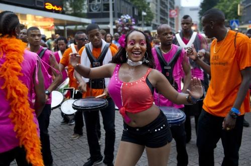 Rotterdam Carnival. Photo courtesy www.dvhn.nl