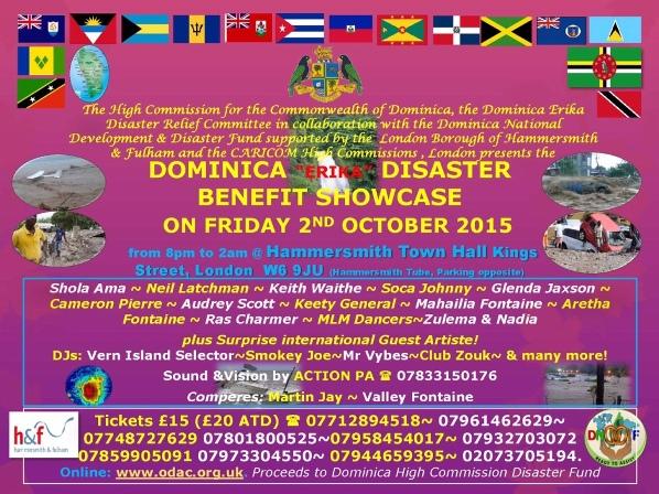 Dominica Erika Fundraiser