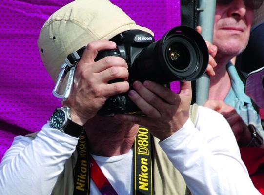 Press Photographer. Photo courtesy www.amateurphotographer.co.uk