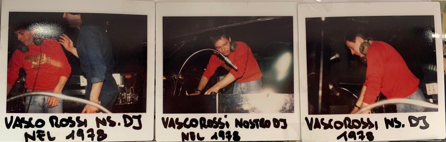 Vasco Rossi Dj allo Small nel 1978