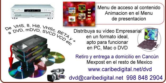Distribuya la presentación de su empresa en DVD