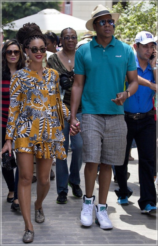 Jay Z and Beyonce Visit Cuba