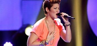 "Jamaican songstress Tessanne Chin on ""The Voice"""