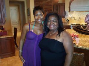 Bahamas PR Specialist Diane Larche  and Terri J Vaughn