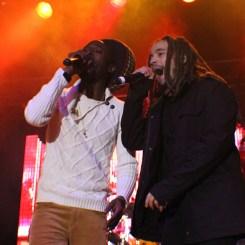 Jo Mersa Marley and Jesse Royal