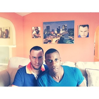 Caribbean Male Supermodel Marries Partner
